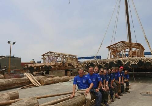 Kon Tiki 2 sets sail