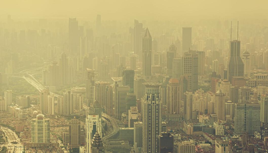 De som migrerte fra landsbygda i sentrale Kina og inn til megabyer som Shanghai,  var de som var mest miljøbevisste. (Illustrasjonsfoto: Microstock)