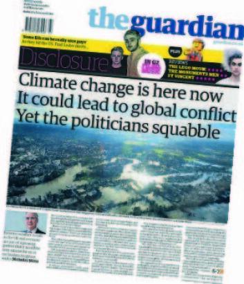 – The Guardian har for eksempel tatt et veldig klart klimastandpunkt, så det er ikke veldig overraskende at de er skeptiske til klimamanipulering som løsning, sier professor Trine Dahl.  (Foto: (Illustrasjon: NHH))