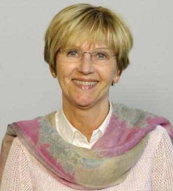 Professor Trine Dahl ved Institutt for fagspråk og interkulturell kommunikasjon på NHH. (Foto: Norges handelshøgskole)