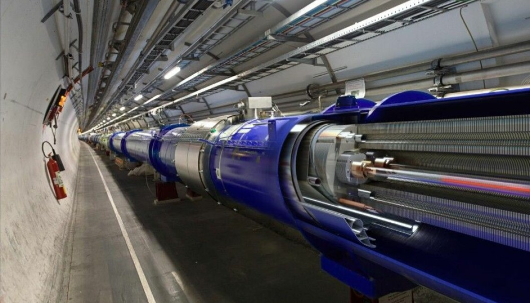 The particle accelerator at CERN, Large Hadron Collider, is the world's largest and most powerful particle collider, the largest, most complex experimental facility ever built, and the largest single machine in the world. (Photo: Daniel Dominguez, CERN)