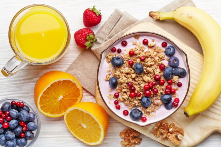 Et sunt og variert kosthold har et naturlig innhold av antioksidanter, som kan ha en gunstig effekt på helsen, mener forskerne. (Illustrasjonsfoto: Microstock)