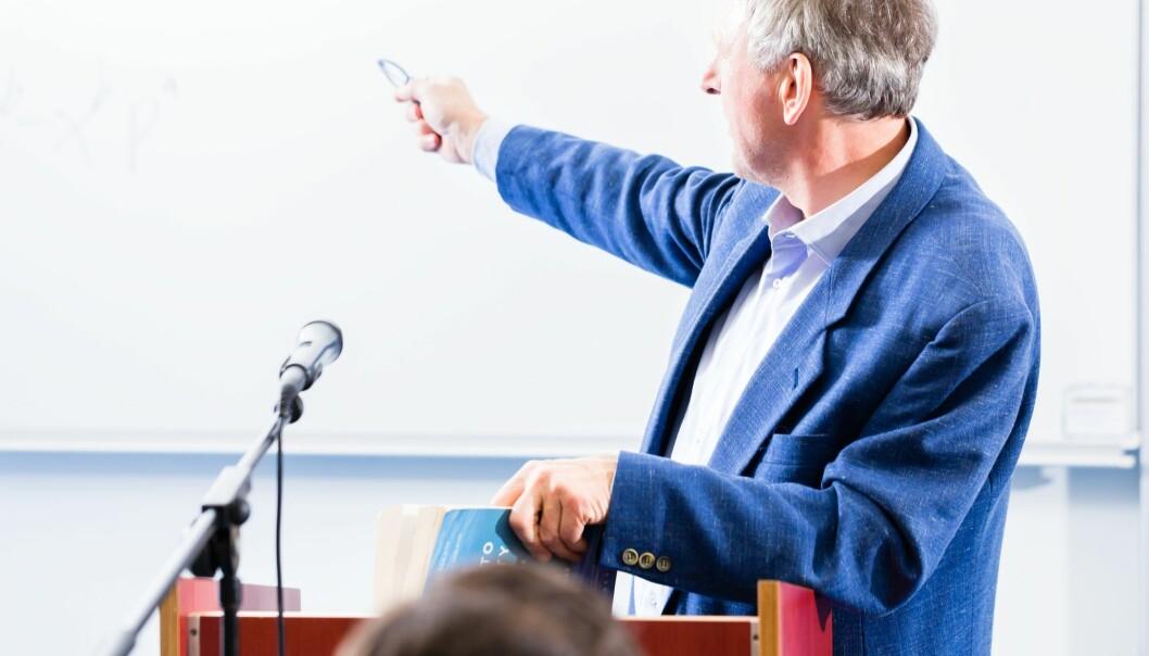 Antallet norske professorer over 60 år er blitt tredoblet på få år.   (Illustrasjonsfoto: Colourbox)