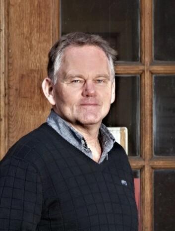Finn Aarsæther er prodekan og førsteamanuensis i norskdidaktikk ved Institutt for grunnskole- og faglærerutdanning på HiOA. (Foto: John Hughes)