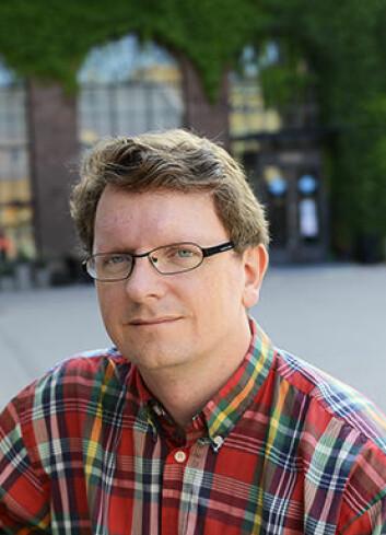 Bjørn Smestad, førstelektor i matematikk og studieleder ved Institutt for grunnskole- og faglærerutdanning på HiOA. (Foto: Sonja Balci)