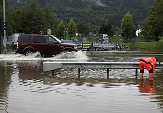 Taking charge of flood water