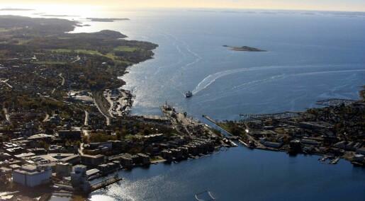 Lager detaljerte modeller av strømmene i Oslofjorden