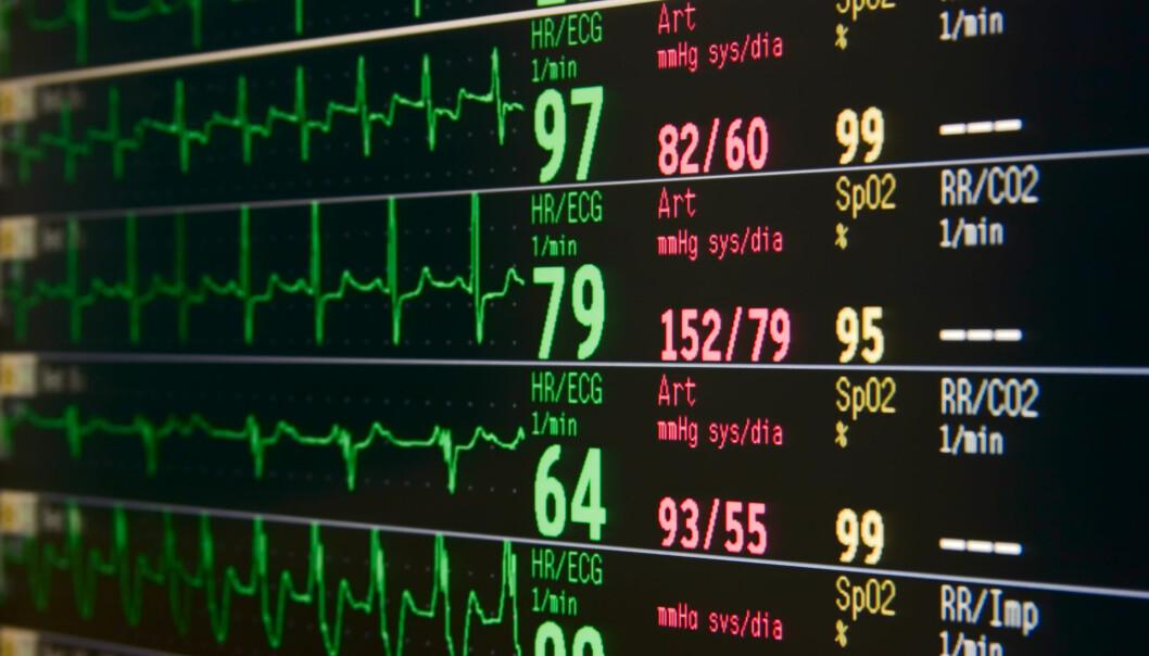 Matematikk vert i dag nytta innan dei fleste fagfelt. No også til å oppdaga hjarteinfarkt. (Illustrasjonsfoto: Microstock)