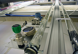 Climate research using lasers and water pipes
