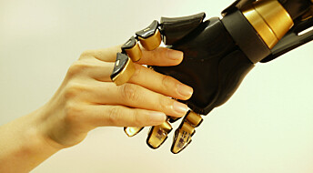 Følsomme kunstige fingre