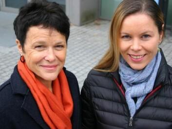 Gro Killi Haugstad (left) and Karen Synne Groven have studied women's own experiences with vestibulodynia, a burning pain in the vagina. (Photo: Ida Irene Bergstrøm)