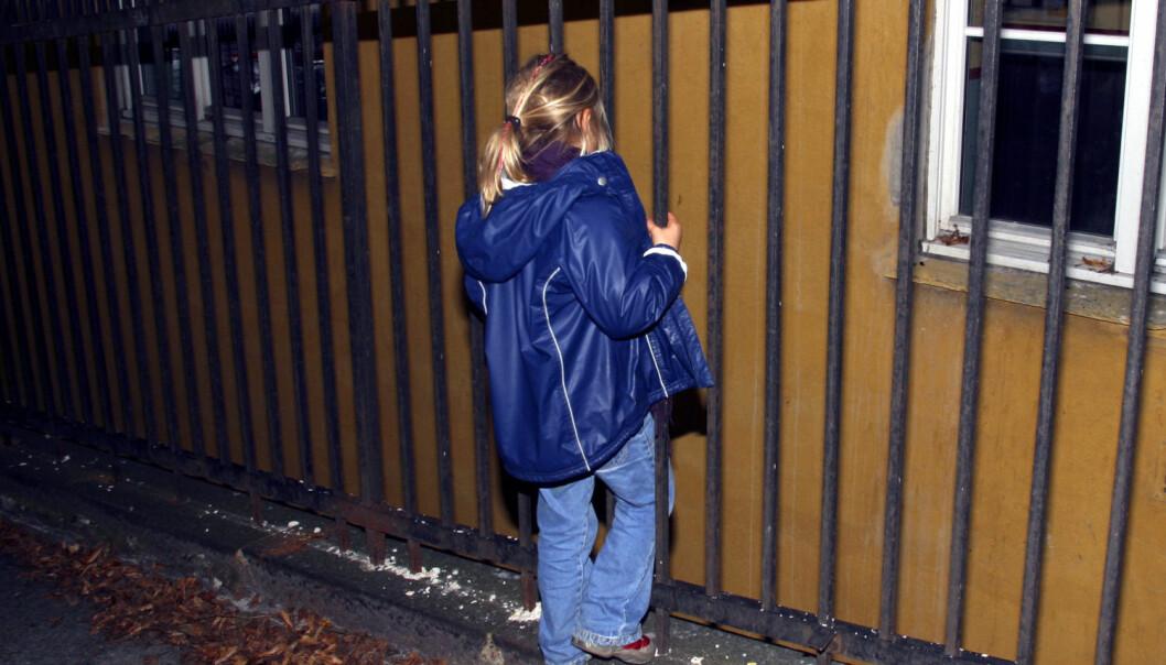 Forskere har intervjuet over 700 familier som har vært i kontakt med barnevernet i 12 norske kommuner. – Flere av barna som forskerne har snakket med, forteller at de ikke blir hørt av barnevernstjenesten, sier forsker og prosjektleder for prosjektet Willy Lichtwark ved Nordlandsforskning.  (Foto: NTB scanpix)