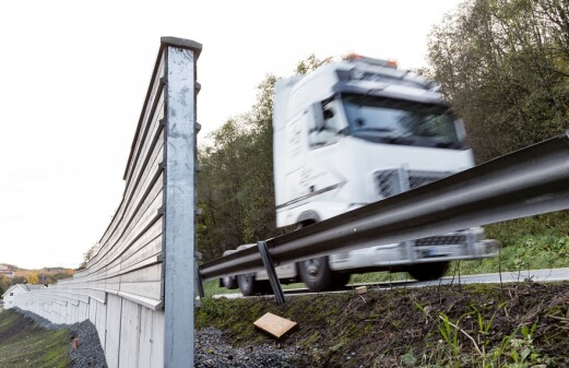 Guardrails with inbuilt noise-barriers are on the way