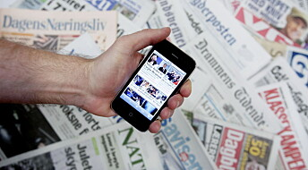– Sponsing og produktplassering kan løse medienes inntektskrise