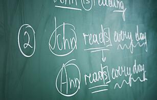 Elever vil ha mer skrivetrening i engelsk