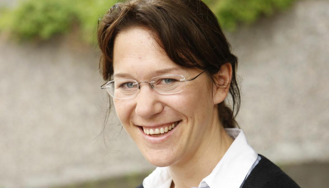 Anine Kierulf får årets Akademikerpris for sitt engasjement for ytringsfrihet og menneskerettigheter. (Foto: Erlend Aas, NTB scanpix)