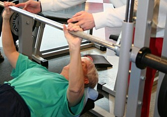 You are never too old to exercise