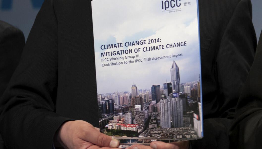 Femte hovedrapport fra FNs klimapanel ble offentliggjort i København i november i fjor. Den er enda vanskeligere å forstå enn tidligere klimarapporter.  (Foto: Stefanie Loos, Reuters, NTB Scanpix)