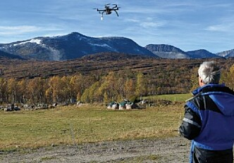 Drones help find lost sheep