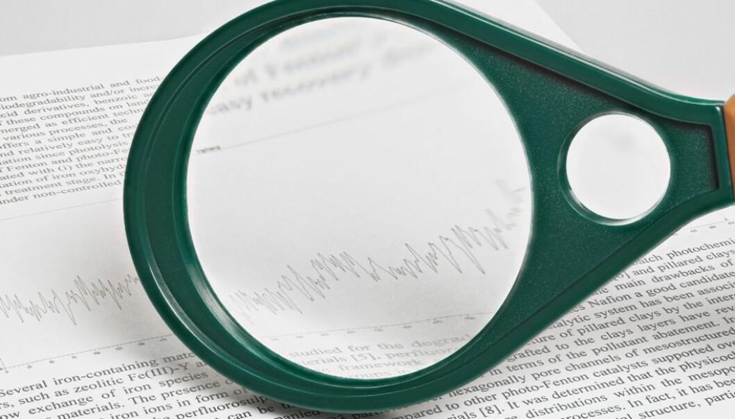 Bidragsyterne i Retraction Watch foreslår et standarskjema for tilbaketrekkinger som følger felles retningslinjer for dette. Tanken er å definere en slags beste praksis for tilbaketrekkinger.  (Foto: Colourbox)