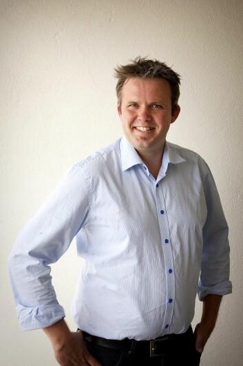 Eivind Merok er historiker og økonom og jobber i Østlandsforskning med forskjellige prosjekter om økonomisk historie.  Foto: Fotograf Katrine