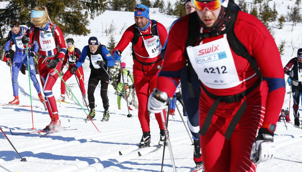 Det er fire faktorer som må til for at sponsingen av for eksempel idrettsarrangementer skal være mest mulig effektivt. Bildet er fra årets Birkebeinerrenn på Lillehammer.  (Foto: Heiko Junge, NTB scanpix))