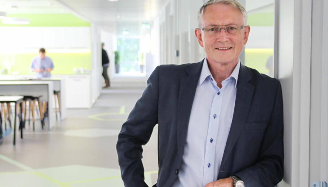 – Forskningens betydning øker og blir til dels en samfunnsomformende kraft, sier Arvid Hallén, direktør i Forskningsrådet. (Foto: Elin Fugelsnes)
