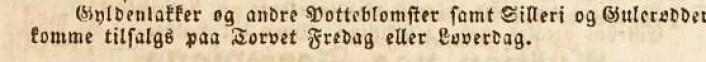 (Foto: (Kilde: Morgenbladet 28/5-1840))