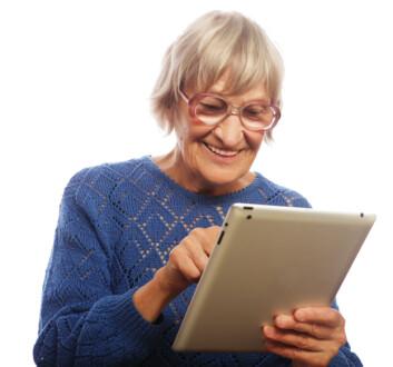 I et nytt forskningsprosjekt skal personer med mild kognitiv svikt få delta i utviklingen av teknologi beregnet på dem selv. (Foto: Shutterstock)