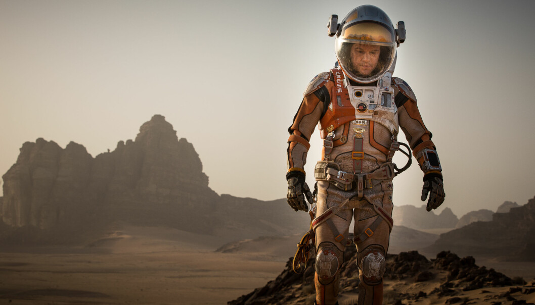 Ville Matt Damon klart seg mutters åleine på Mars i verkelegheita? Vi høyrer med ekspertane. (Foto: 20th Century Fox)