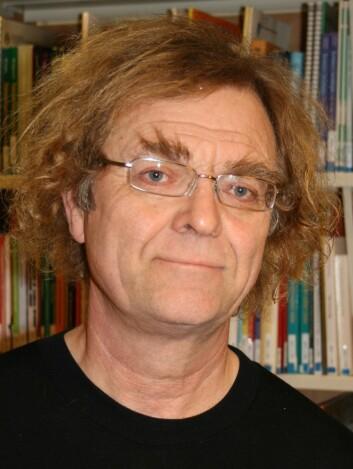 Svein Mossige er forsker ved Voldsprogrammet på Høgskolen i Oslo og Akershus og har lang erfaring som terapeut for overgrepsutsatte barn. (Foto: Halvard Dyb, NOVA.)