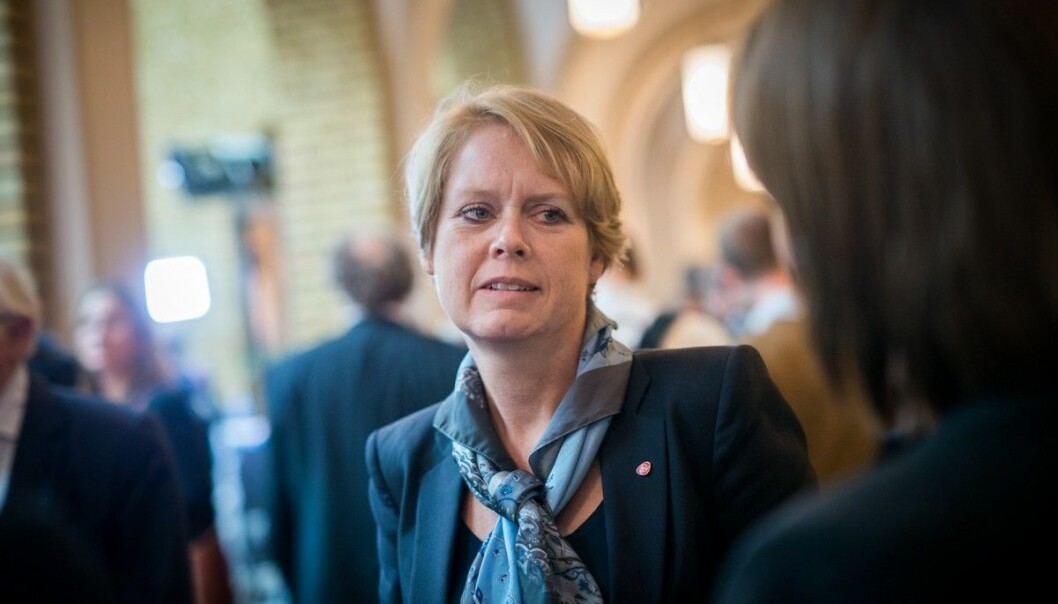 Arbeiderpartiet vil ha flere studieplasser innen høyere utdanning, forteller Marianne Aasen. (Foto: Skjalg Bøhmer Vold)