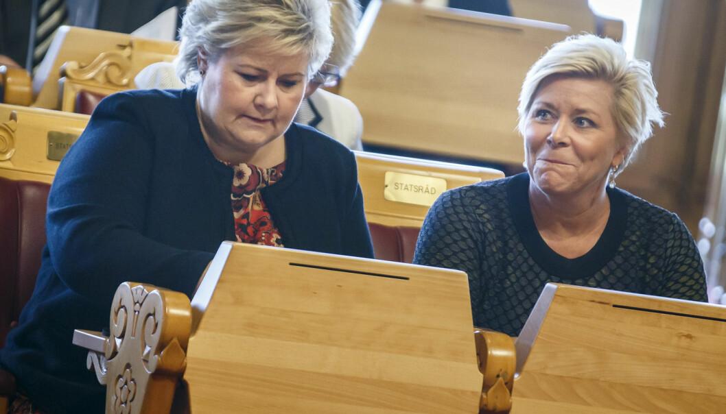 En ny undersøkelse slakter regjeringens skattekutt til superrike. (Foto: Heiko Junge, NTB scanpix)