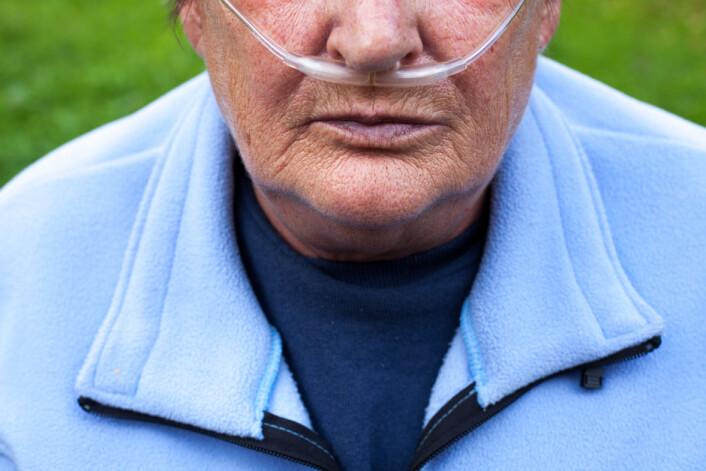 Kroniske luftveislidelser er blant de mest vanlige plagene.  (Illustrasjonsfoto: Microstock)