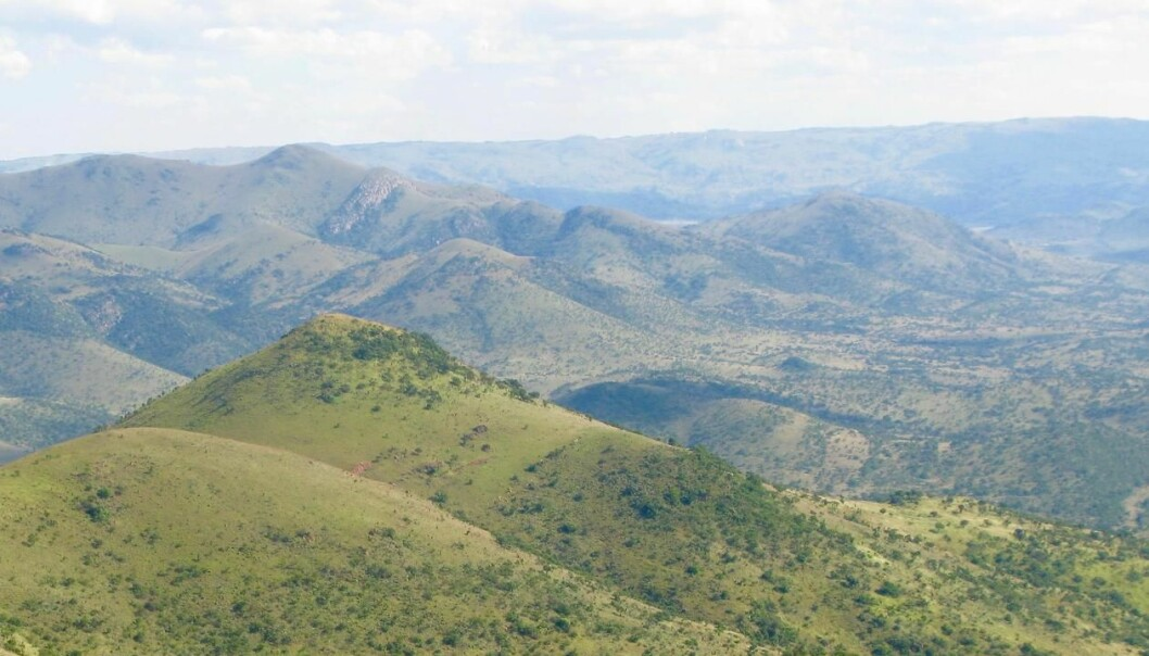 Most scientists believe that Earth's climate was hot, 3.5 billion years ago. But new findings from South Africa suggest that it was much colder than scientists previously thought. (Photo: Harald Furnes.)