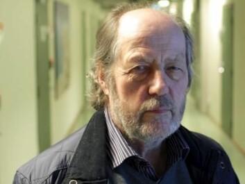 Harald Furnes, Professor Emeritus, the Department of Earth Science, University of Bergen. (Photo: Jens Helleland Ådnanes/ Copyright: UiB)