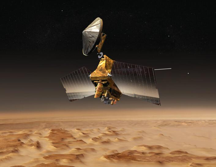 Mars Reconnaissance Orbiter. (Foto: NASA, JPL-Caltech)