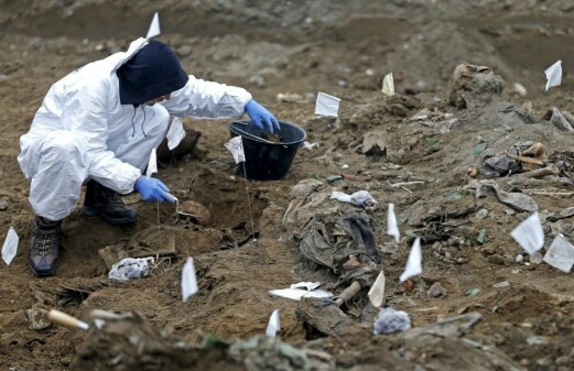 Investigating mass graves can build trust
