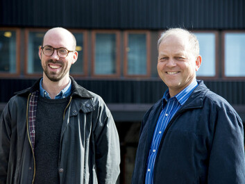 """Our objective is that C-REX will become the leading research community in the world on right-wing extremism,"" say deputy director Anders Ravik Jupskås and director Tor Bjørgo. (Photo Tron Trondal/ UiO)"