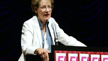 Gudrun Schyman var leder for Vänsterpartiet ved valget i 1994. I 2005 startet hun partiet Feministisk Initiativ. (Foto: Mark Earthy, Scanpix Sweden)
