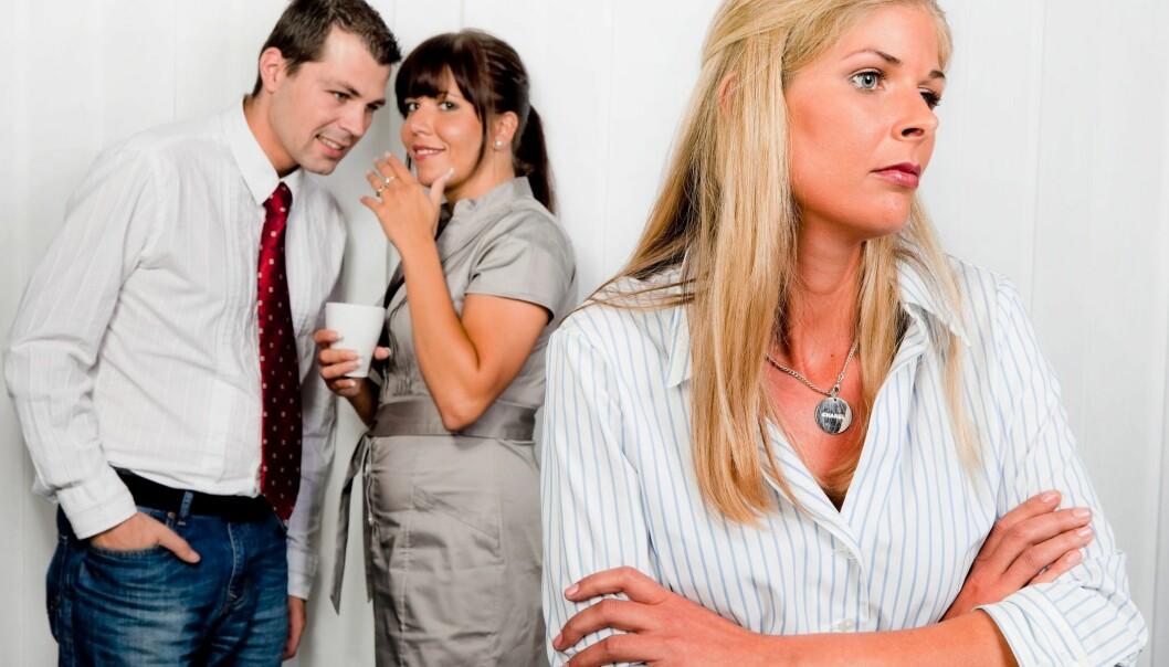 Om lag 5,5 prosent av alle norske arbeidstakarar rapporterer at dei blir mobba på jobben. (Illustrasjonsfoto: Microstock)
