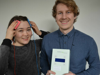 Nina Chung Mathiesen and James Roe are two of the researchers behind this discovery. (Photo: Svein Harald Milde/UiO.)