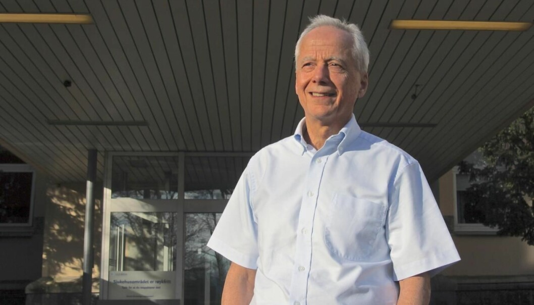 Laurence Bindoff (picture) and Janniche Torsvik have studied the connection between the protein (PITRM1) and neurodegeneration in order to create new medicines to fight Alzheimer's disease. (Photo: Solfrid T. Langeland)