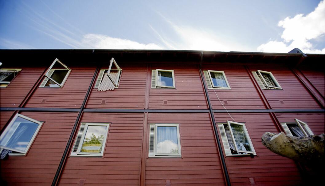 Dårlig byggeteknisk standard på asylmottak kan føre til fysiske og psykiske problemer for beboerne. (Illustrasjonsfoto: Stian Lysberg Solum, NTB scanpix)