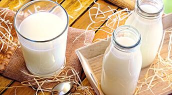 Kan være farlig å drikke melk som ikke er pasteurisert