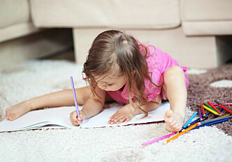Scribbling helps kids learn to read