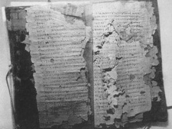 Papyryus codicies of the Nag hammadi library. (Photo: Mike Shea/Flickr CC BY-NC 2.0)