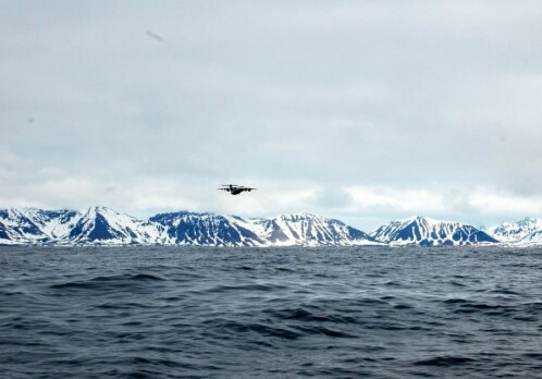 Methane from the Arctic ocean stays put