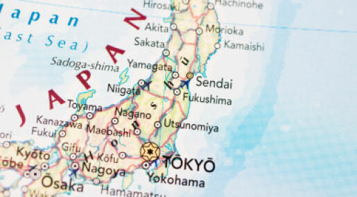 Kraftig jordskjelv i Fukushima