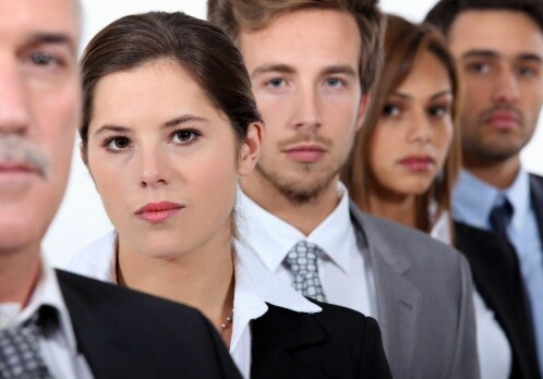 Power hungry employees don't notice discrimination